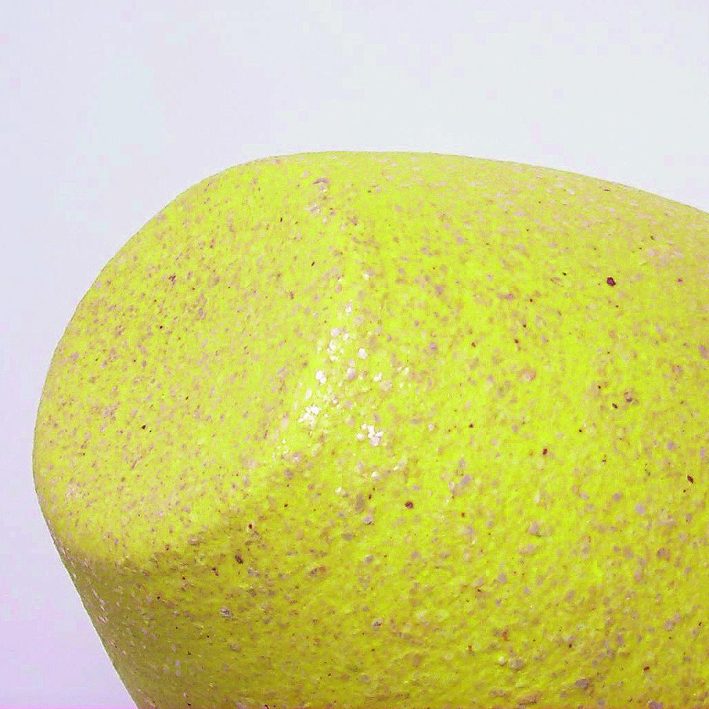 Vase Unterseite, 9134 Gelb Glimmer