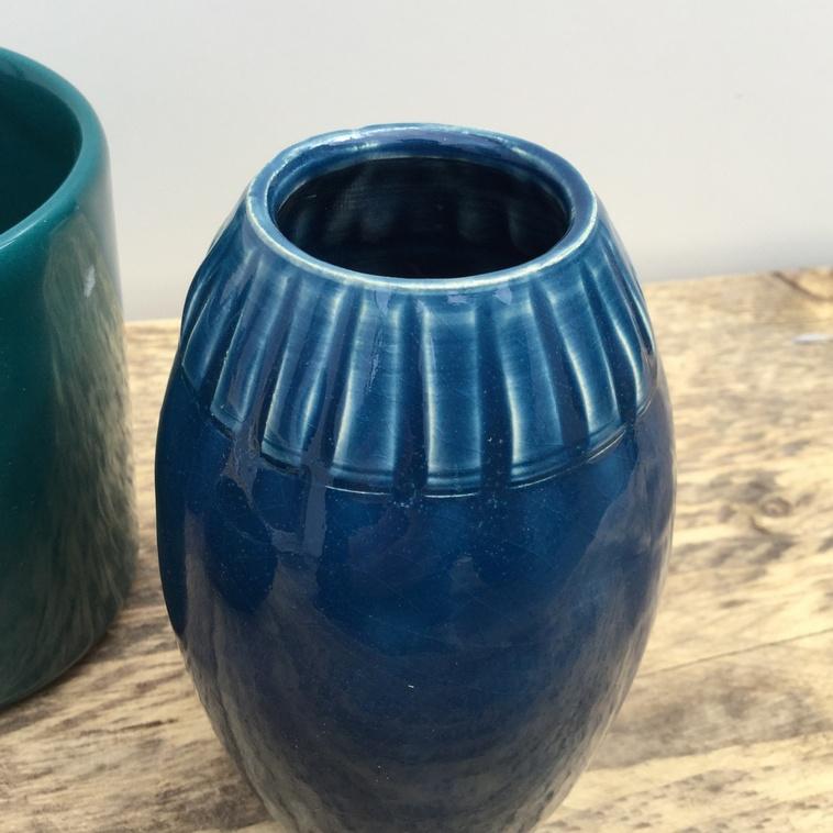 Vase, 9225 Mittelblau