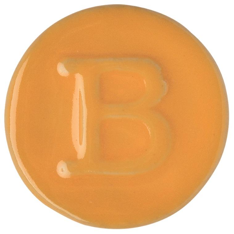 9308 Carnelian Yellow sample tile 1150°C
