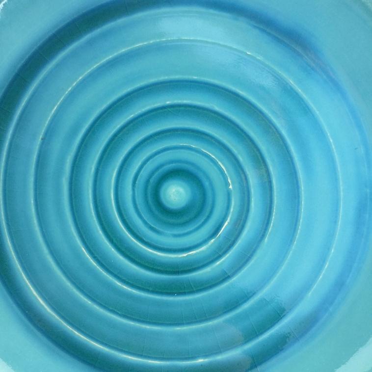 Teller, 9342 Wasserblau