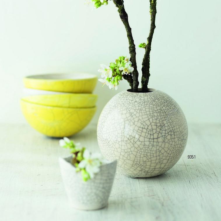 Vase, 9351 Craquelé transparent