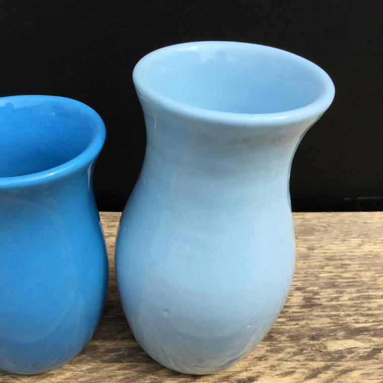 Vase, 9370 Babyblau