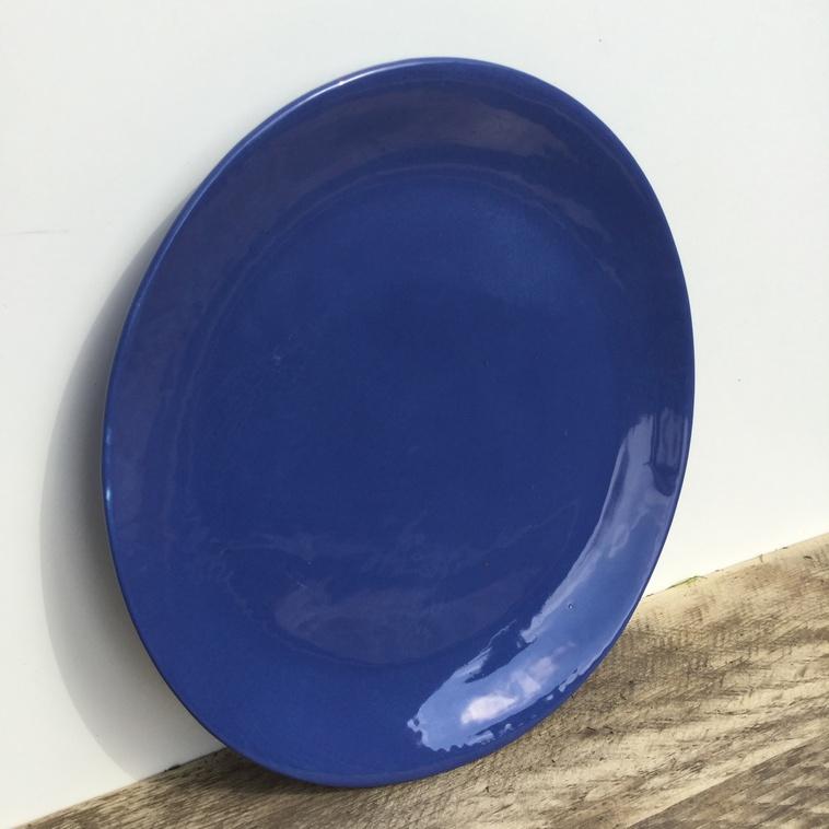 Teller, 9375 Französischblau