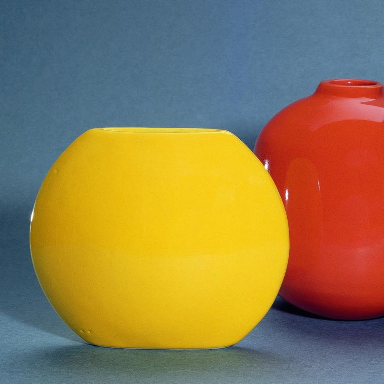 Vase, 9379 Kanarigelb