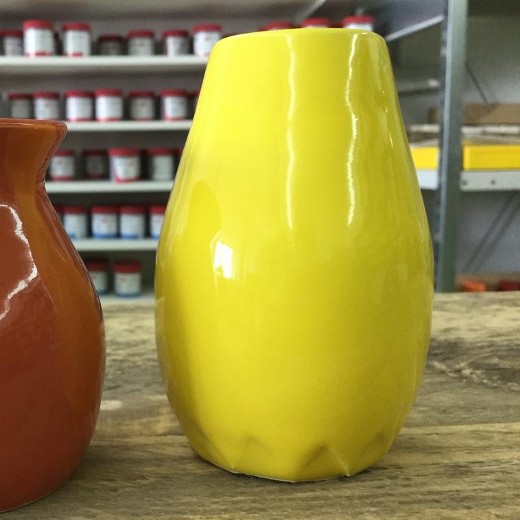 Vase, 9449 Sonnengelb