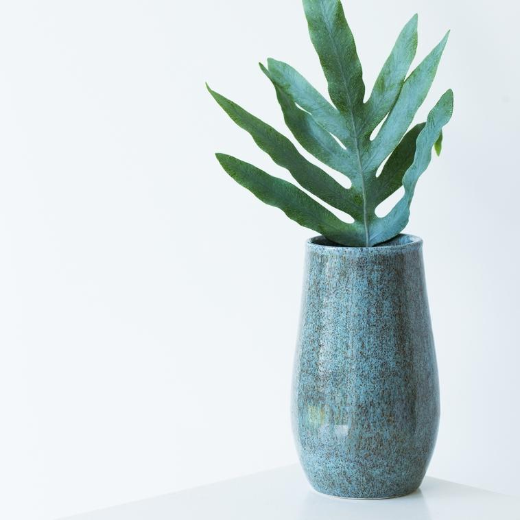 Vase, 9457 Herbstblaubraun