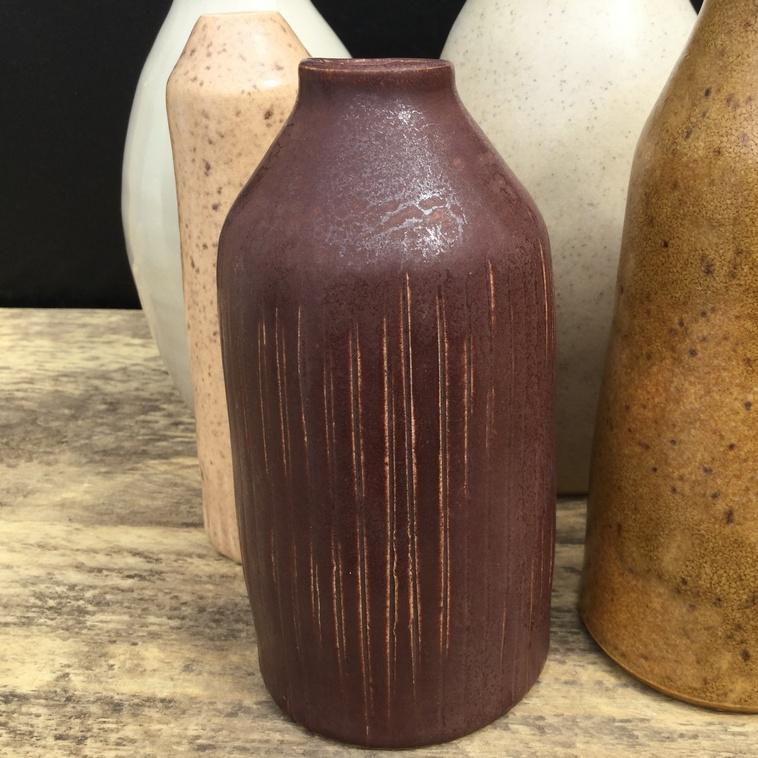 Vase, 9464 Kastanienbraun