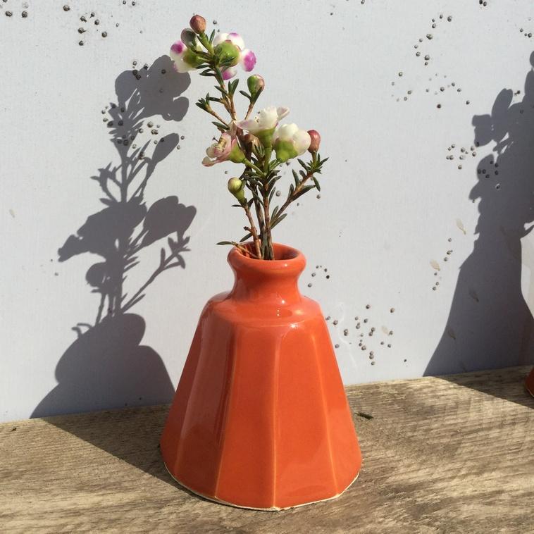 Vase, 9485 Karottenrot