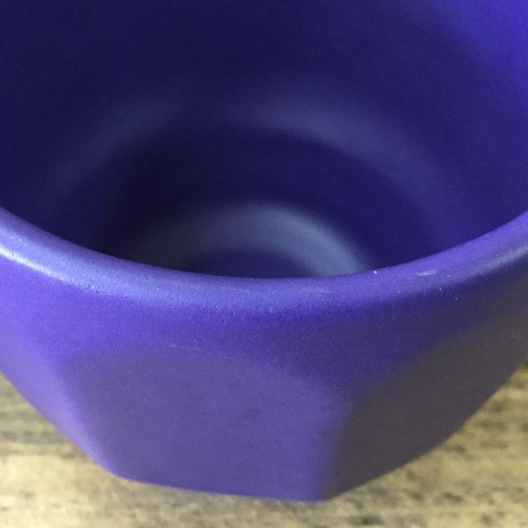 Becherrand, 9491 Blau matt