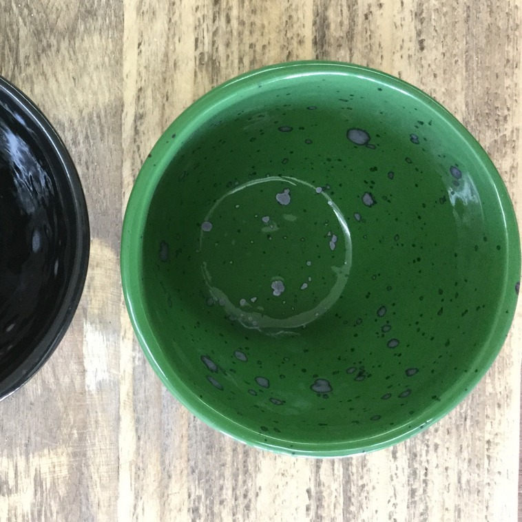 Schale innen, 9504 Irischgrün
