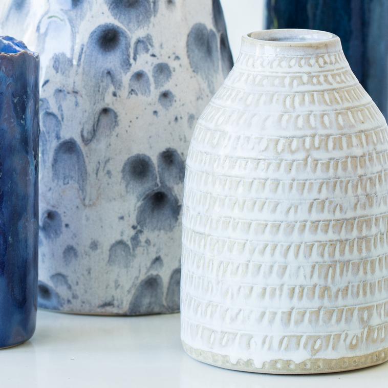 Vase, 9526 Champagner