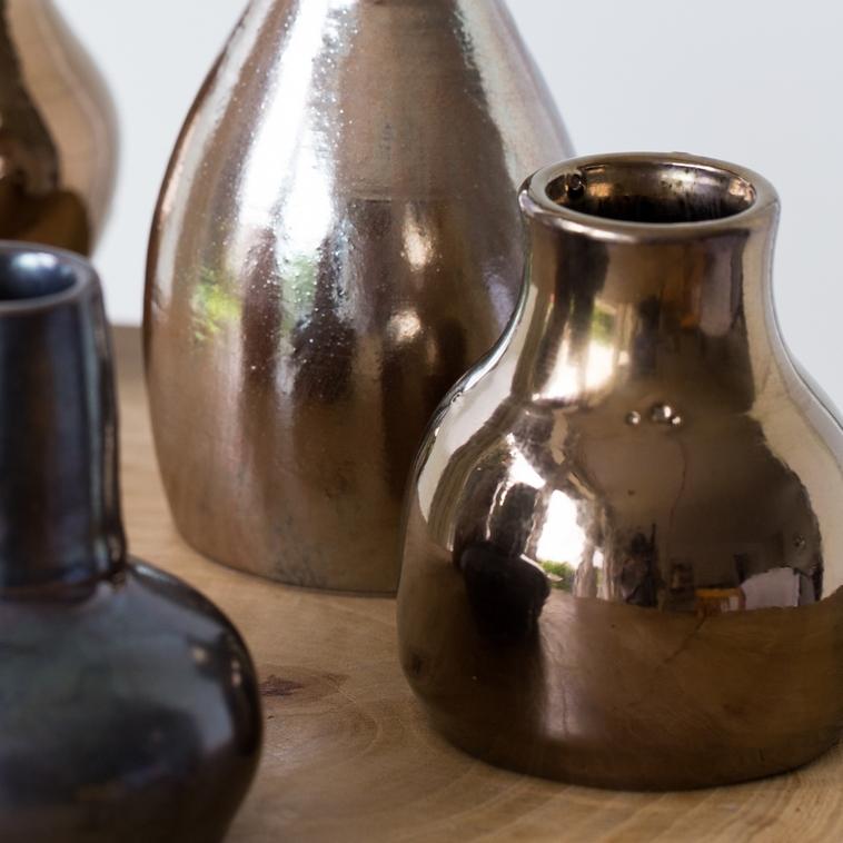 Vase, 9541 Goldglasur