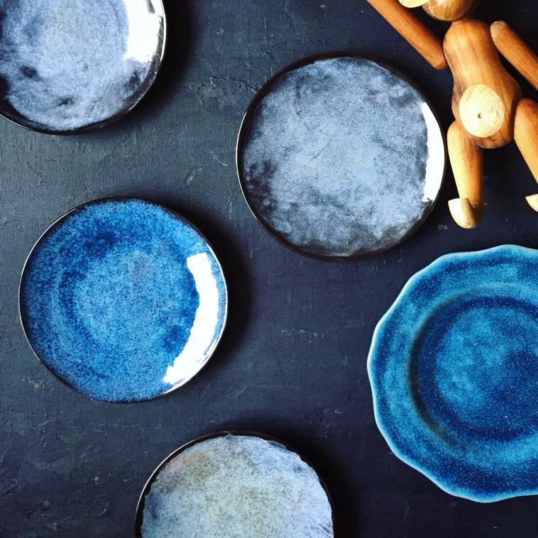 Teller, 9542 Blaueffekt