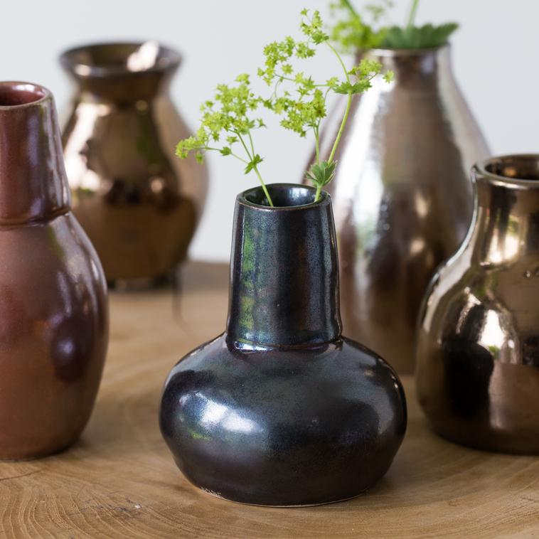 Vase, 9543 Spiegelglasur
