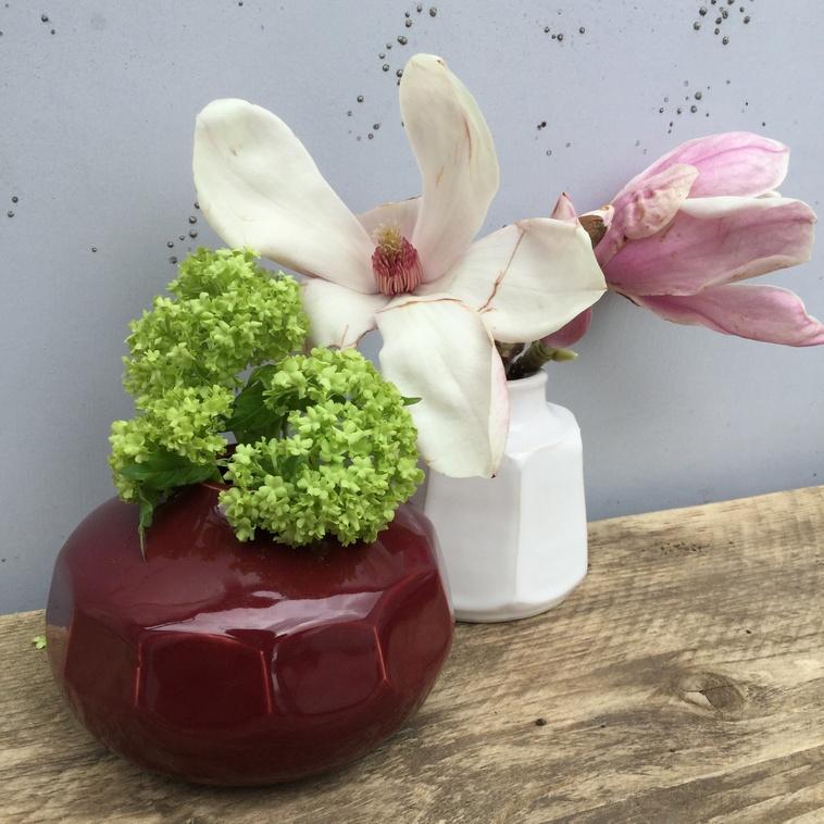 Vase, 9559 Kirschrot