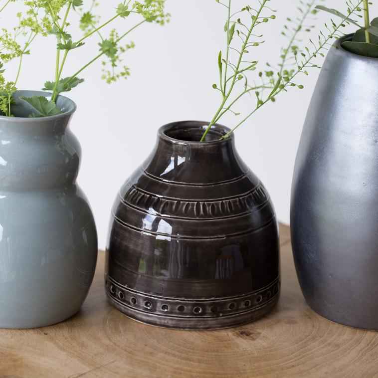 Vase, 9589 Schwarz