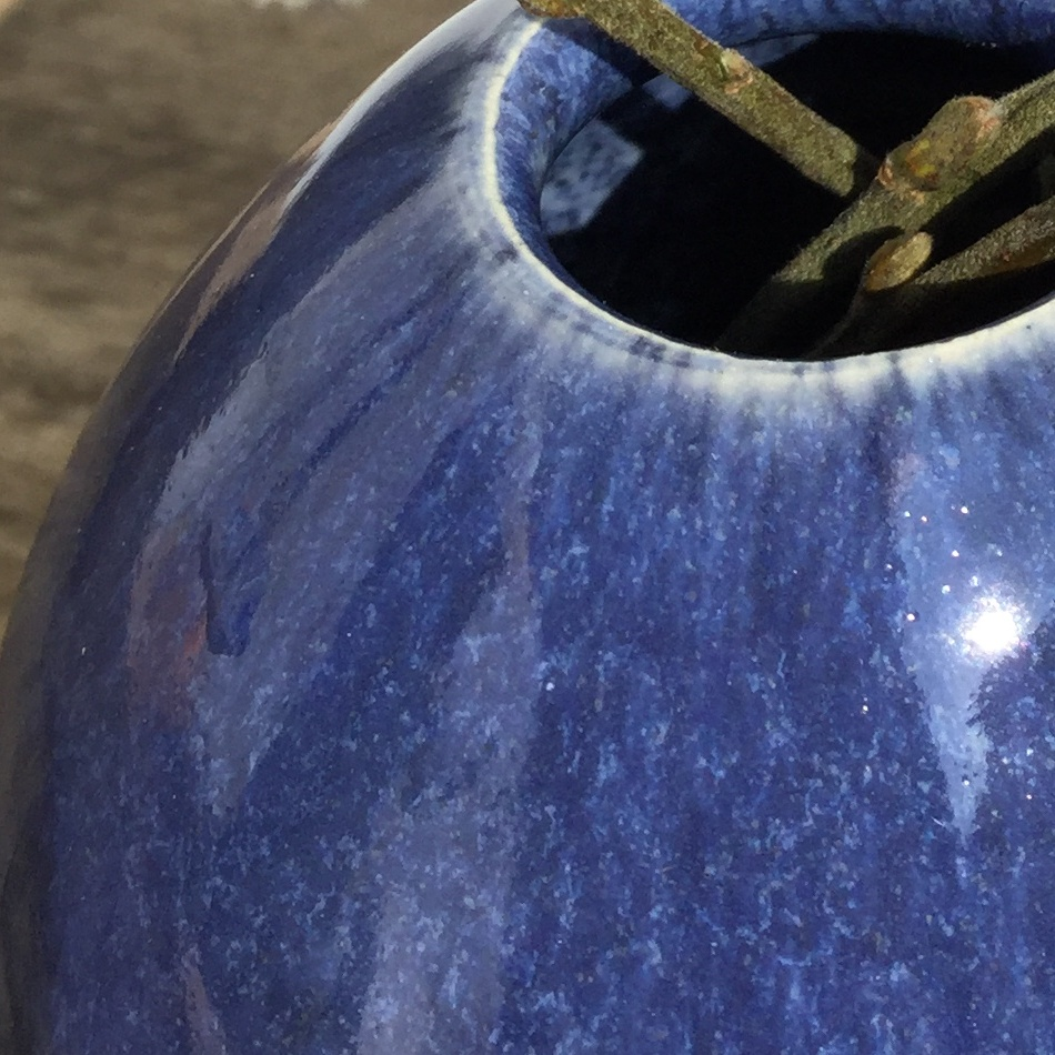 Vasenrand, 9591 Stahlblau