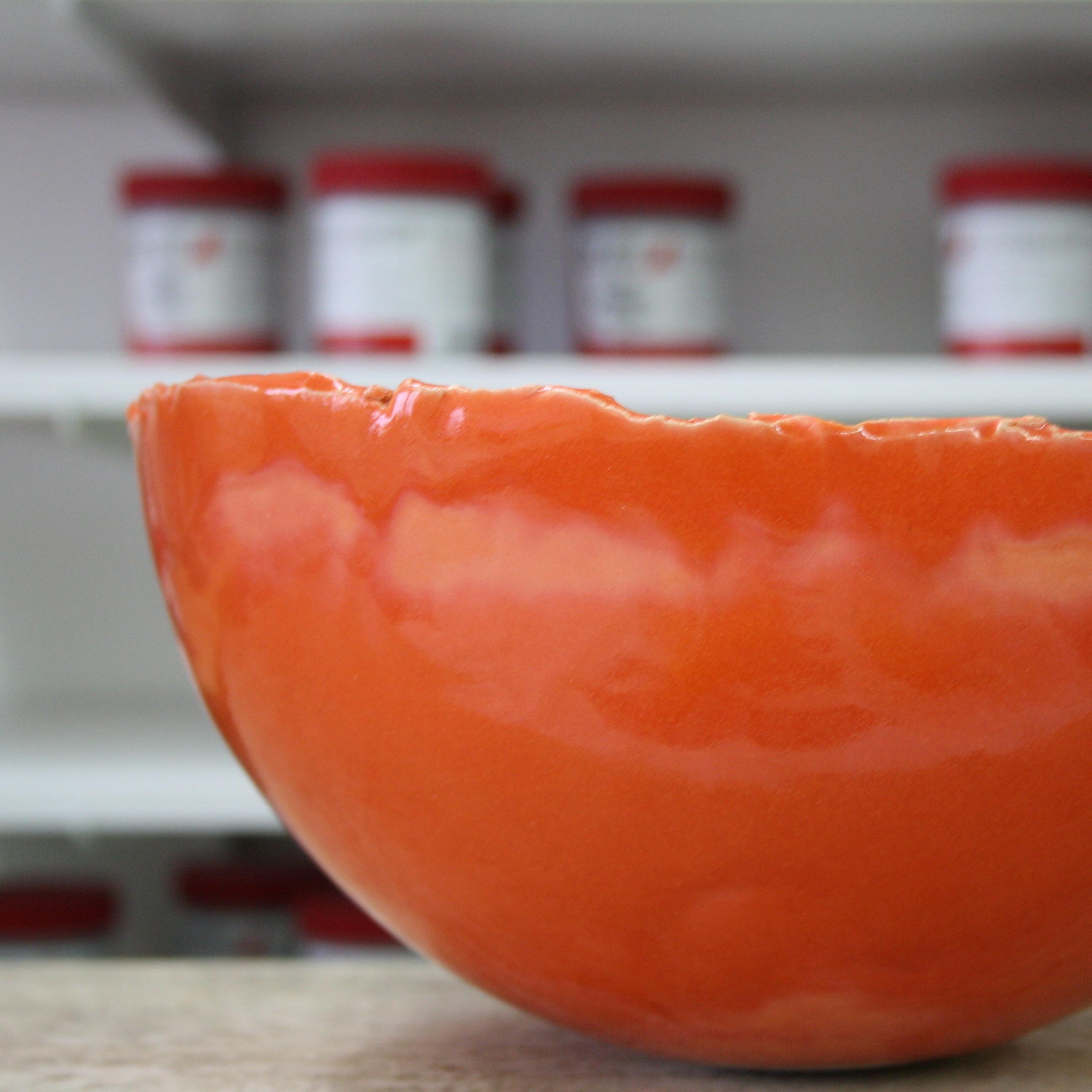 Schale, 9604 Orange
