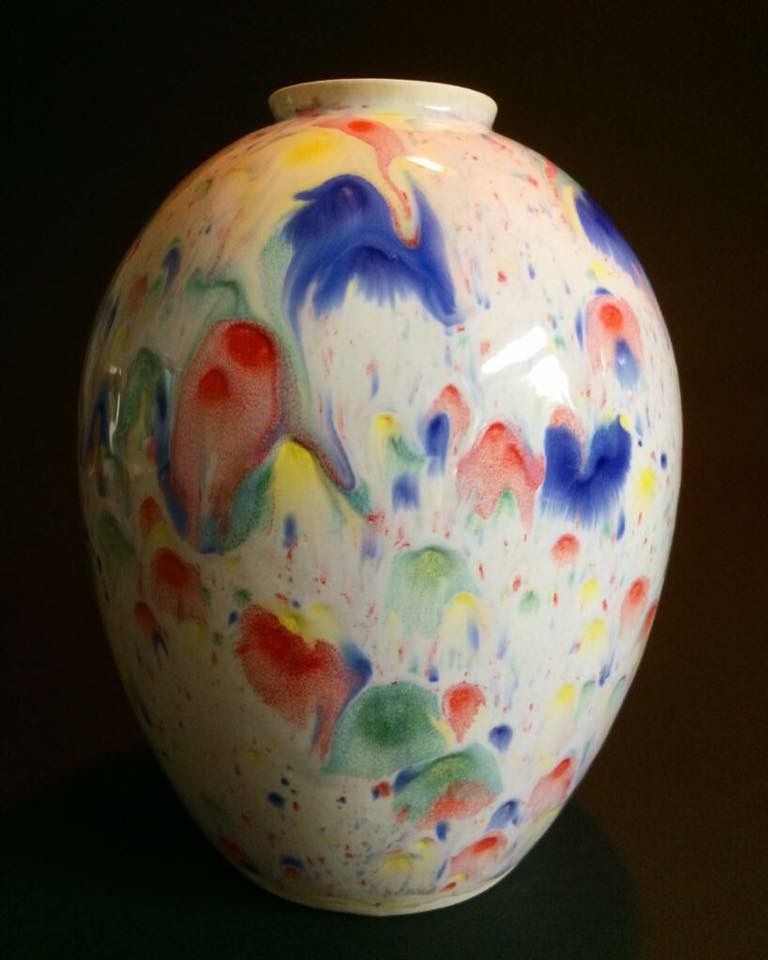 Vase, (c) blackstarceramics