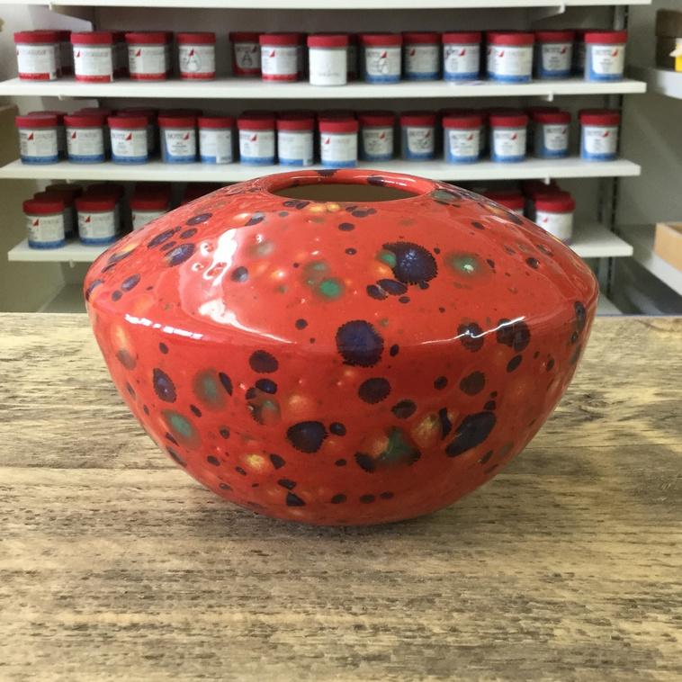 Vase, 9609 Tropenfeuer