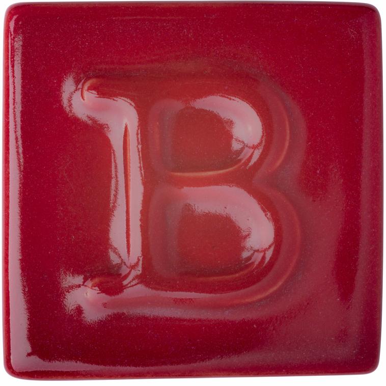 9620 Rubinrot Musterkachel 1050°C