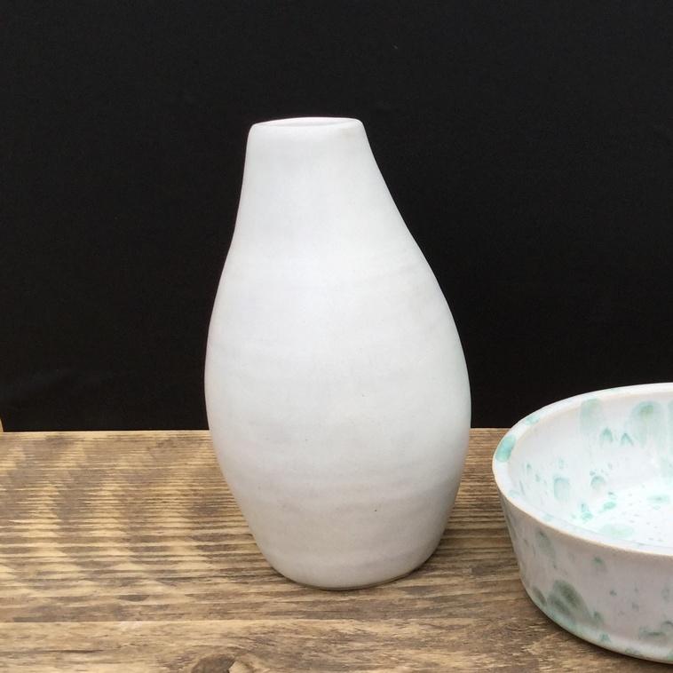 9887 Cremeweiß, Vase